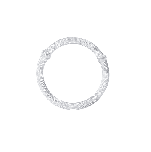 ole lynggaard nature ring size 2 white goldole lynggaard nature ring size 2 white gold