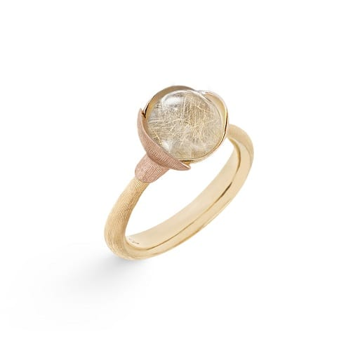 Lotus Ring 1 Rutile Quartz A2650-411
