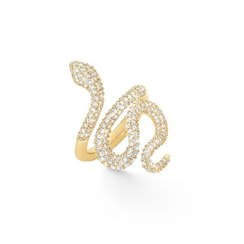 Ole Lynggaard pave Snakes Ring A2673-404