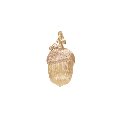 A3003-401 Forest pendant in 18K yellow gold and diamonds TW.VS