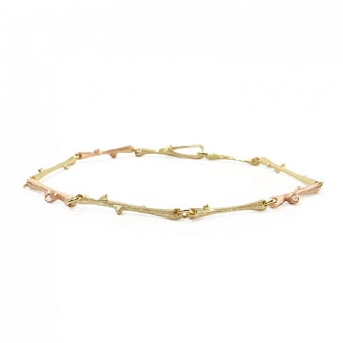Ole Lynggaard Nature Bracelet Yellow & Rose Gold