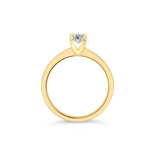 oval-diamond-solitaire-engagement-ring-yellow-gold-ishtar-trewarne-jewellers-melbourne-side