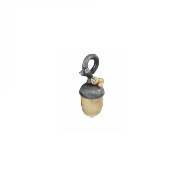 A2829-303 yellow gold small acorn