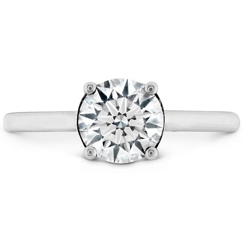 Hearts on Fire Sloane Silhouette Engagement Ring