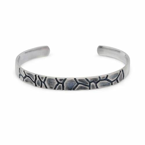 daniel.bentley.dry.river.cuff.sterling.silver