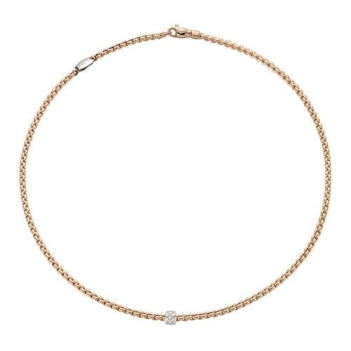 eka tiny pave necklace yg trewarne melbourne fope