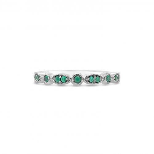 Celeste Moon Emerald Goddess Wedding Ring Melbourne