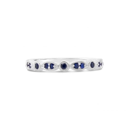 Celeste Moon Sapphire Goddess Wedding Ring Melbourne