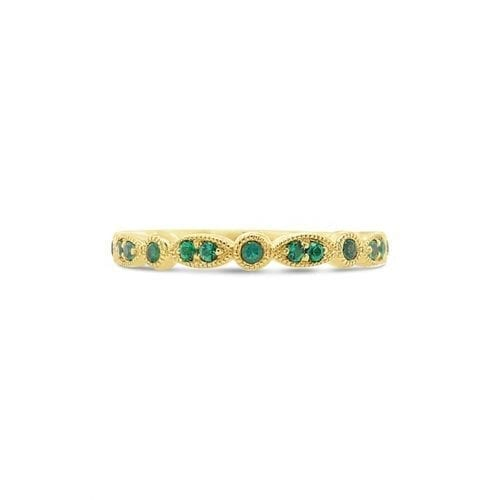 Celeste Sun Emerald Goddess Wedding Ring Melbourne
