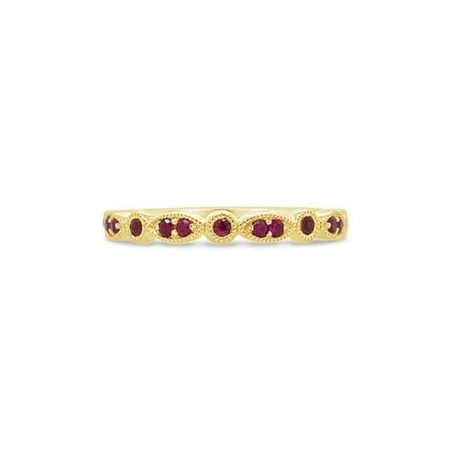 Celeste Sun Ruby Goddess Wedding Ring Melbourne