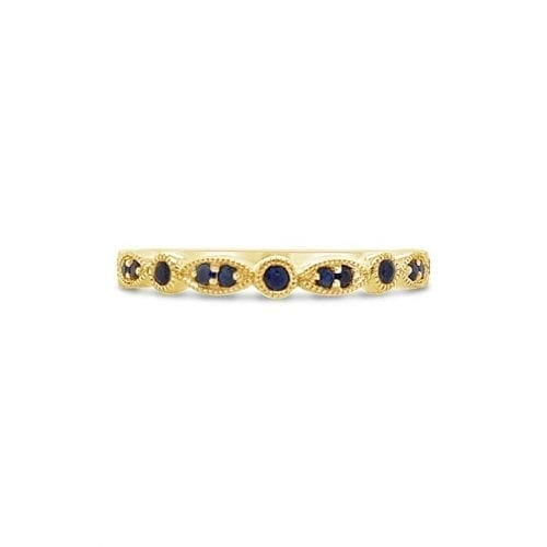 Celeste Sun Sapphire Goddess Wedding Ring Melbourne