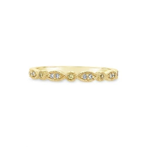 Celeste Yellow Diamond Goddess Wedding Ring Melbourne