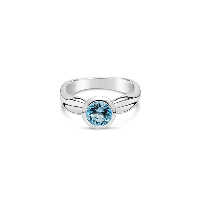Daniel Bentley Ebb Tide Ring Blue Topaz Melbourne
