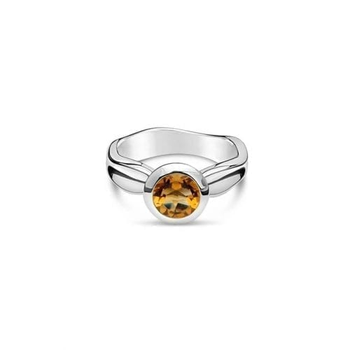 Daniel Bentley Ebb Tide Ring Citrine Melbourne