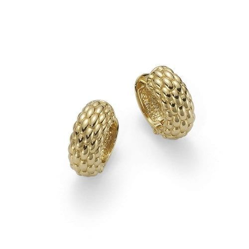 Fope Lux Yellow Gold Earrings Melbourne