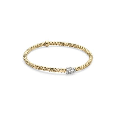 Fope Prima Yellow Gold Bracelet Melbourne