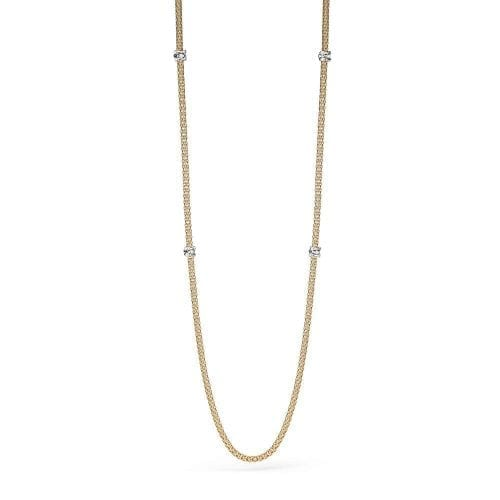 Fope Prima Yellow Gold Necklace Melbourne