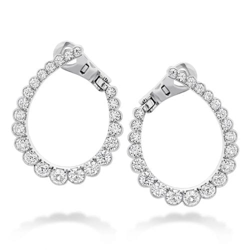 Hearts On Fire Aerial Regal Diamond Hoops Melbourne