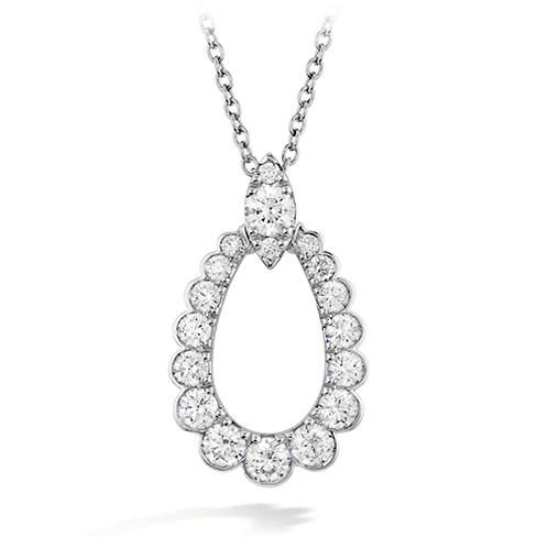 Hearts On Fire Aerial Regal Teardrop Diamond Pendant Melbourne