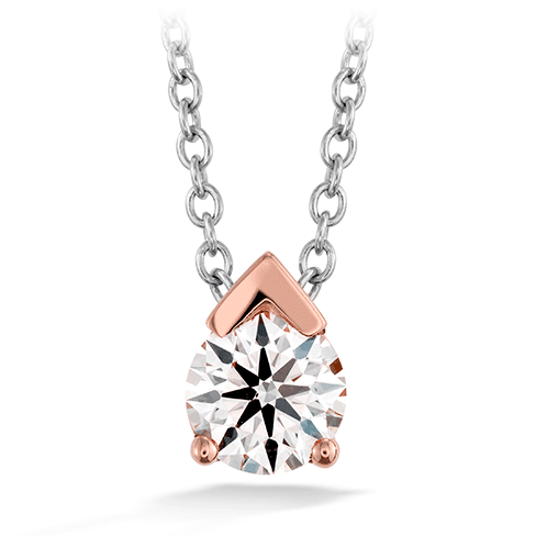 Hearts On Fire Aerial Single Diamond Pendant Melbourne