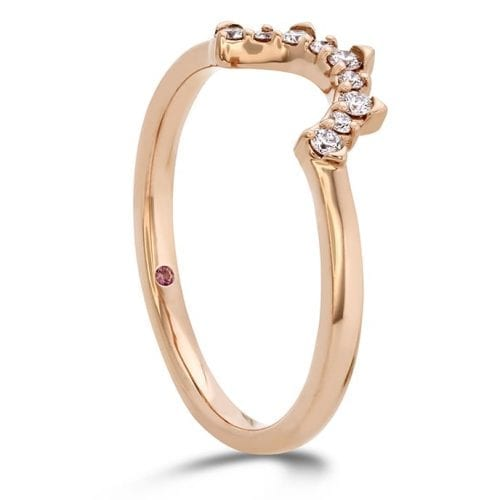 Hearts On Fire Behati Tiara Rose Gold Band Trewarne Melbourne
