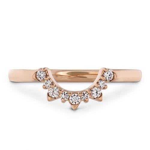 Hearts On Fire Behati Tiara Rose Gold Band Melbourne