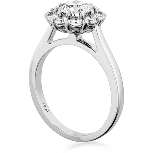 Hearts On Fire Beloved Open Gallery Engagement Ring Trewarne Jewellery Melbourne
