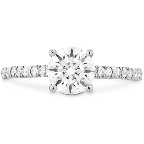 Hearts On Fire Cali Chic Diamond Engagement Ring Melbourne