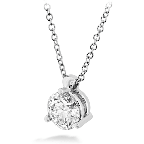 Hearts On Fire Classic 3 Prong Solitaire Diamond Pendant Trewarne Jewellery Melbourne