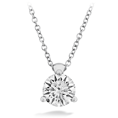 Hearts On Fire Classic 3 Prong Solitaire Diamond Pendant Melbourne