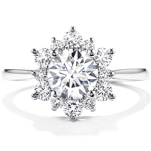 Hearts On Fire Delight Lady Di Diamond Engagement Ring Melbourne