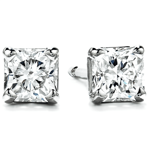 Hearts On Fire Diamond Stud Earrings Trewarne Jewellery Melbourne