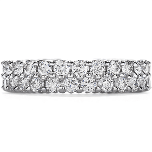 Hearts On Fire Double-Row Eternity Band Right Hand Ring Melbourne