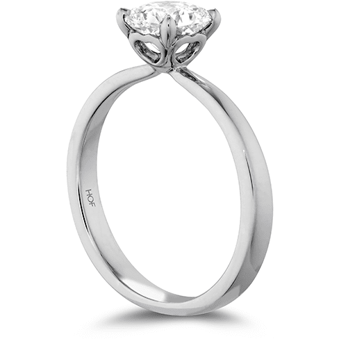 Hearts On Fire Dream Signature Solitaire Engagement Ring Trewarne Jewellery Melbourne