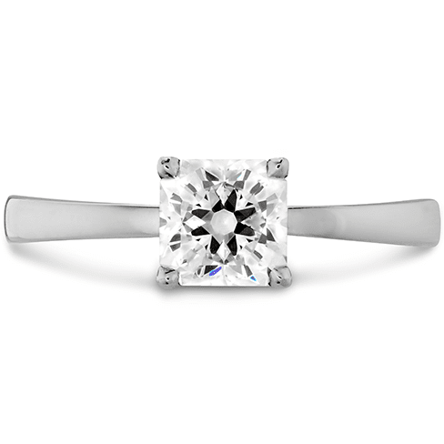 Hearts On Fire Dream Signature Solitaire Engagement Ring Melbourne