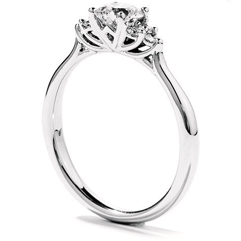 Hearts On Fire Felicity Queen Anne Engagement Ring Trewarne Jewellery Melbourne