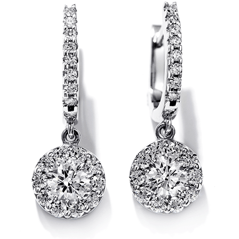 Hearts On Fire Fulfillment Diamond Drop Earrings Melbourne