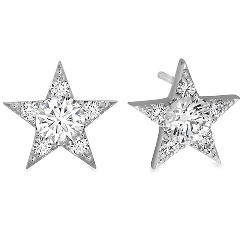 Hearts On Fire Illa Cluster Diamond Stud Earrings Melbourne