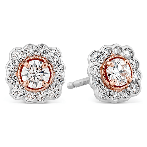 Hearts On Fire Liliana Flower Earrings was $4860 now $2916