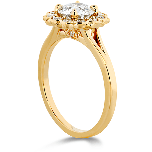 Hearts On Fire Liliana Halo Engagement Ring Trewarne Jewellery Melbourne