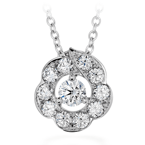 Hearts On Fire Lorelei Bloom Diamond Pendant Melbourne