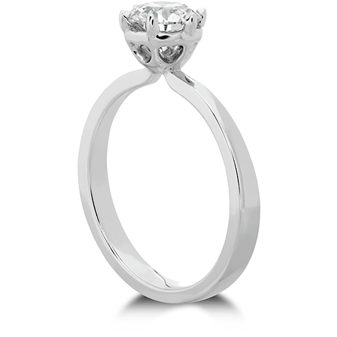 Hearts On Fire Signature 6 Prong Solitaire Engagement Ring Trewarne Jewellery Melbourne