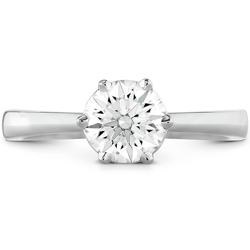 Hearts On Fire Signature 6 Prong Solitaire Engagement Ring Melbourne