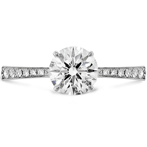 Hearts On Fire Signature Engagement Ring-Diamond Band Melbourne