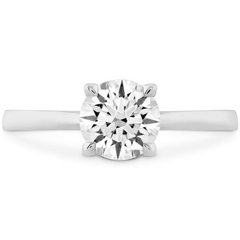 Hearts On Fire Signature Solitaire Engagement Ring Melbourne