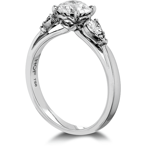Hearts On Fire Signature Three Stone Engagement Ring Trewarne Jewellery Melbourne