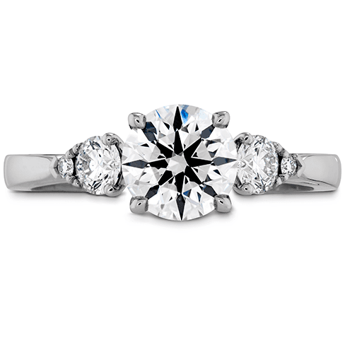 Hearts On Fire Signature Three Stone Engagement Ring Melbourne