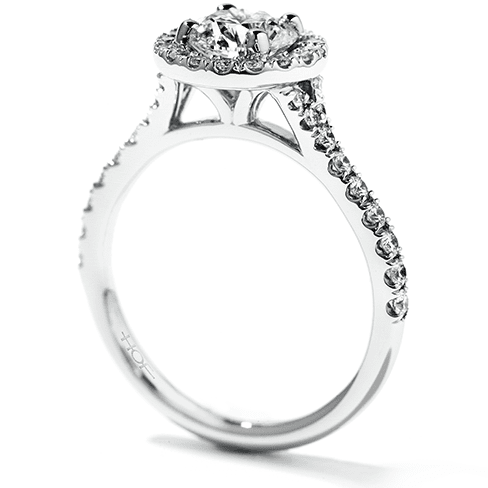 Hearts On Fire Transcend Engagement Ring Trewarne Jewellery Melbourne