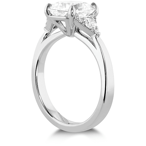 Hearts On Fire Triplicity Dream Engagement Ring Trewarne Jewellery Melbourne