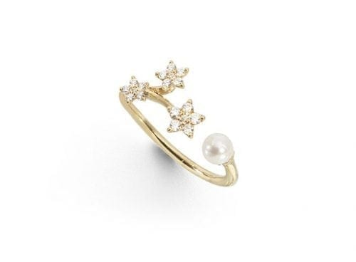 Ole Lynggaard Shooting Star Ring   A2864-401 Trewarne Jewellery Melbourne